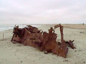 Skeleton Coast   (wikipedia photo)